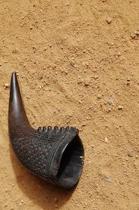 Kongo Bakuba-Trinkhorn